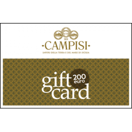 gift card 200 euro Campisi Conserve