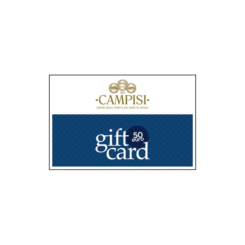 gift card 50 euro Campisi Conserve