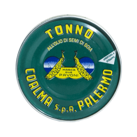 tuna in sunflower oil 80 g Due Pavoni - Coalma
