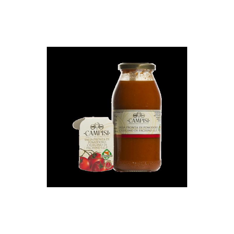 ready-made pachino pgi cherry tomato sacue 500 g Campisi Conserve
