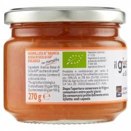 marmellata di arance rosse biologica 270 g Libera Terra
