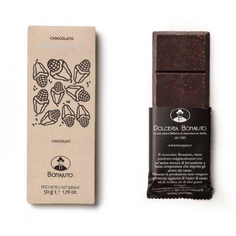 pure chocolate 90% 50 g Bonajuto