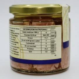 mediterranean tuna Fillets in olive oil Campisi Conserve