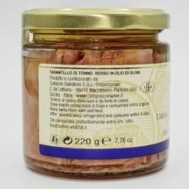 bluefin tuna tarantello(tuna steak) 220 g Campisi Conserve