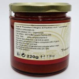 ready-made pachino cherry tomato sauce with basil 220 g Campisi Conserve