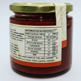 ready-made seafood sauce 220 g Campisi Conserve
