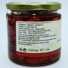 semi-dried cherry tomatoes Campisi Conserve