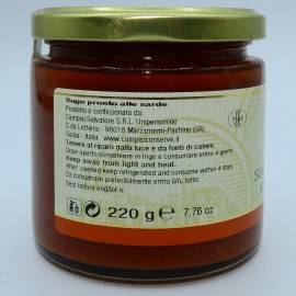 ready-made sardine sauce 220 g Campisi Conserve