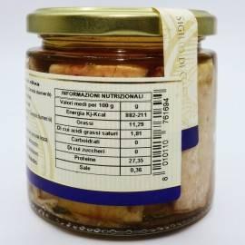 amberjack in olive oil 220 g Campisi Conserve
