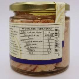ventresca di tonno in olio d'oliva 220 g Campisi Conserve