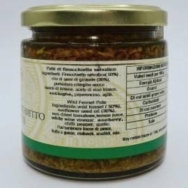 wild fennel pate 220 g Campisi Conserve