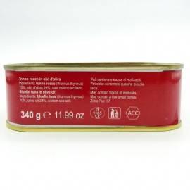 bluefin tuna in olive oil 340 g Campisi Conserve