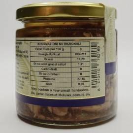 amberjack bites (buzzonaglia) 220 g Campisi Conserve