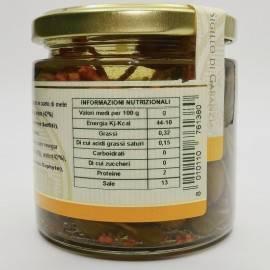 caperberries(capers fruit) in apple cider vinegar 230 g Campisi Conserve
